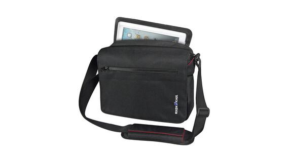 KlickFix PadBag Office Tasche schwarz/rot